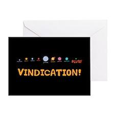 Vindication! Greeting Card