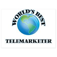 World's Best Telemarketer Invitations