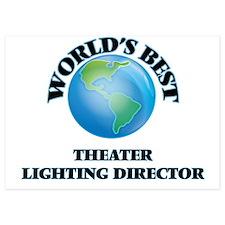 World's Best Theater Lighting Director Invitations