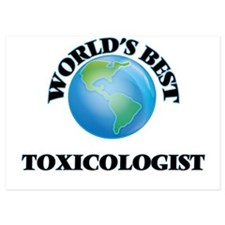 World's Best Toxicologist Invitations