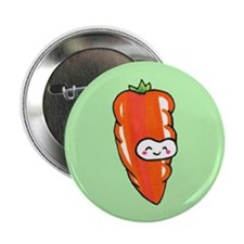 "Mister Carrot 2.25"" Button (100 pack)"