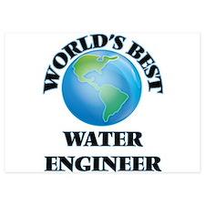 World's Best Water Engineer Invitations