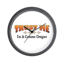 Trust Costume Designer Wall Clock