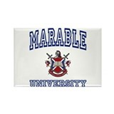 MARABLE University Rectangle Magnet
