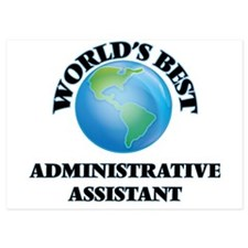 World's Best Administrative Assistant Invitations