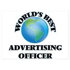 World's Best Advertising Officer Invitations