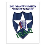 2ND INFANTRY DIVISION, IRAQ Small Poster