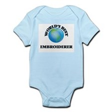 World's Best Embroiderer Body Suit