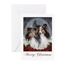 Sheltie Christmas Cards (Pk of 10)