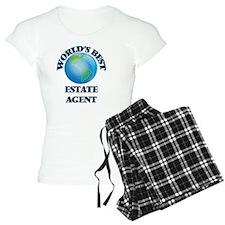 World's Best Estate Agent pajamas