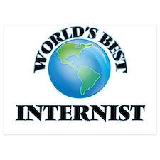 World's Best Internist Invitations