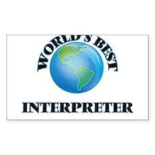 World's Best Interpreter Decal