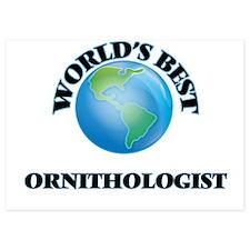 World's Best Ornithologist Invitations