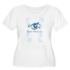 womens eye check Plus Size T-Shirt