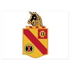 79th Field Artillery Battalion Militar Invitations
