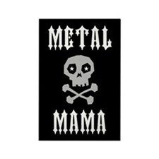 Metal Mama Rectangle Magnet