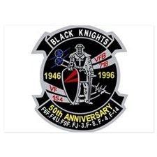 VF-154 anniversary Invitations
