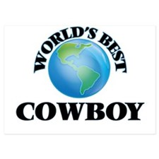 World's Best Cowboy Invitations