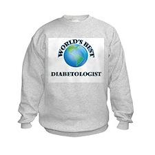 World's Best Diabetologist Sweatshirt