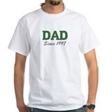 Dad since 1997 (green) Shirt