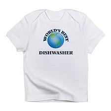 World's Best Dishwasher Infant T-Shirt