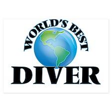 World's Best Diver Invitations