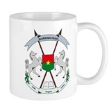 Burkina Faso Coat of Arms Mug