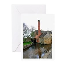 Lower Slaughter Mill Greeting Cards (Pk of 10)