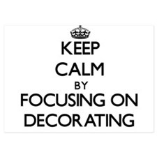 Keep Calm by focusing on Decorating Invitations