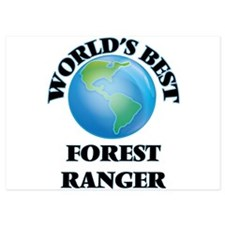 World's Best Forest Ranger Invitations