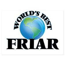 World's Best Friar Invitations