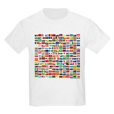 200 Flags - Kids T-Shirt