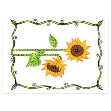 Sunflower Invitations
