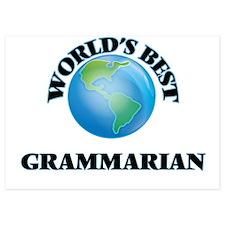 World's Best Grammarian Invitations