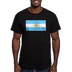 Argentinablank.jpg Men's Fitted T-Shirt (dark)