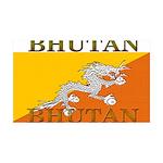 Bhutan.jpg 35x21 Wall Decal