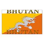Bhutan.jpg Sticker (Rectangle 10 pk)