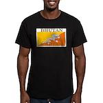 Bhutan.jpg Men's Fitted T-Shirt (dark)