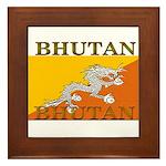Bhutan.jpg Framed Tile