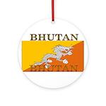 Bhutan.jpg Ornament (Round)