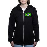 Brazilblack.png Women's Zip Hoodie