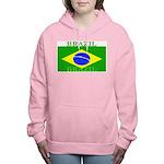 Brazilblack.png Women's Hooded Sweatshirt