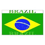 Brazilblack.png Sticker (Rectangle 50 pk)