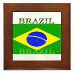 Brazilblack.png Framed Tile