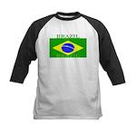Brazilblack.png Kids Baseball Jersey