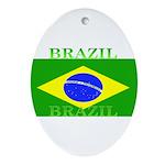 Brazilblack.png Ornament (Oval)