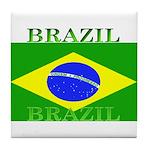Brazilblack.png Tile Coaster
