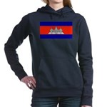 Cambodiablank.jpg Women's Hooded Sweatshirt