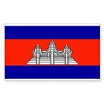 Cambodiablank.jpg Sticker (Rectangle 50 pk)