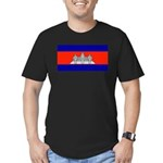 Cambodiablank.jpg Men's Fitted T-Shirt (dark)